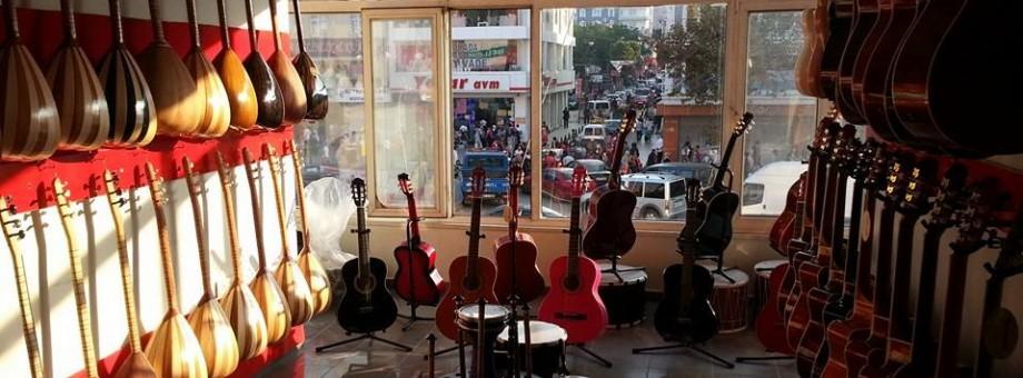 Müzik Aleti Satış Mağazalarımız Büyüyor